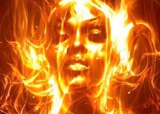 Гореть в огне