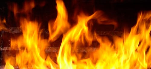 гореть в огне во сне