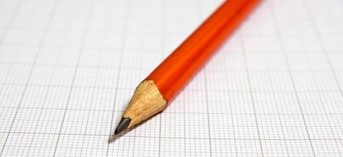 простой карандаш во сне