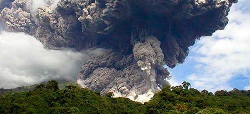 вулканический пепел во сне