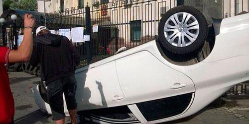 сонник перевернуться на машине