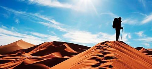 ходить по пустыне во сне