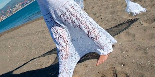 к чему снится белая длинная юбка