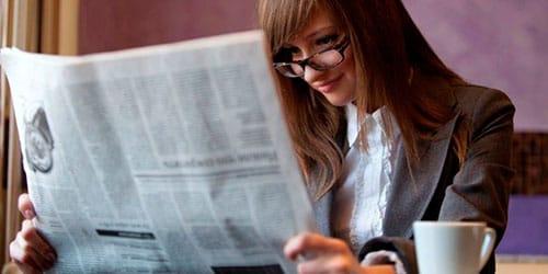 к чему снится читать газету