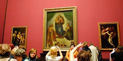 картинная галерея во сне