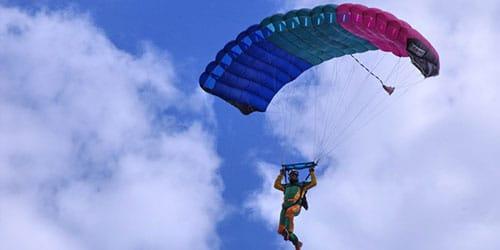 лететь на парашюте во сне
