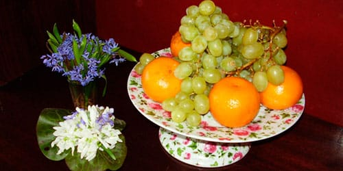 сонник ваза с фруктами