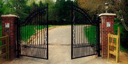 сонник ворота