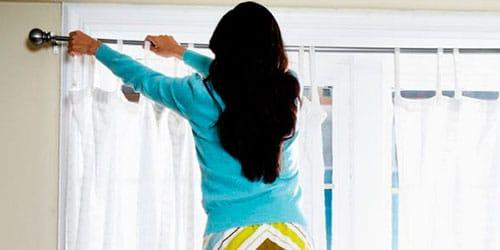 снимать шторы во сне