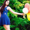 сонник синее платье