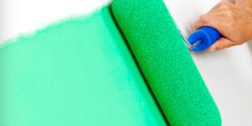 красить стены в зеленый цвет во сне