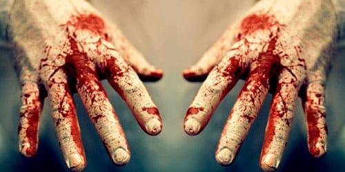 К чему снится кровь на земле чужая фото