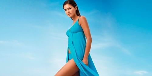 сонник голубое платье