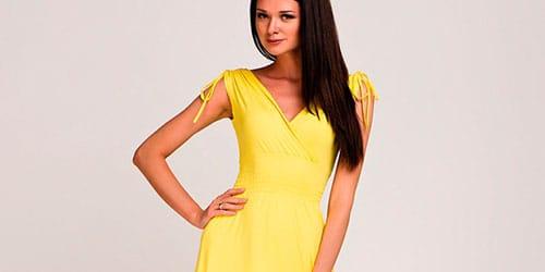 к чему снится желтое платье