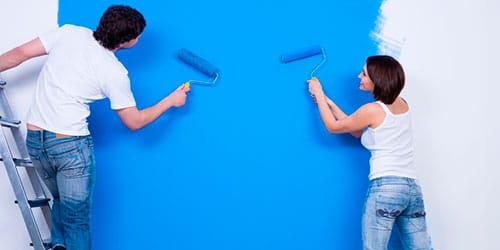 к чему снится красить стены в синий цвет