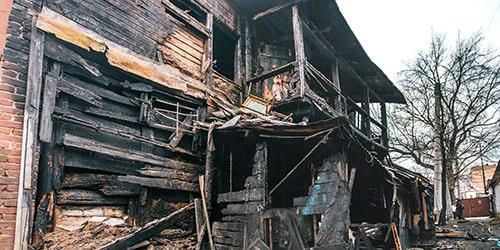 К чему снится сгоревший дом?