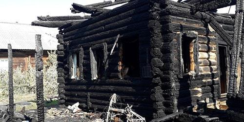 Видеть во сне сгоревший дом
