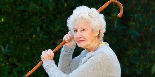 сонник старая женщина