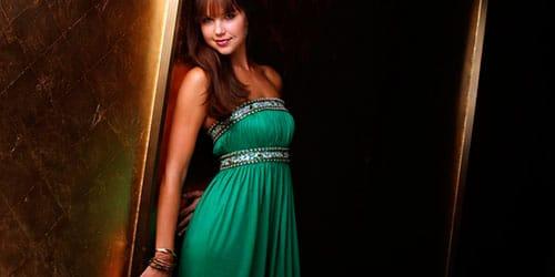 к чему снится зеленое платье