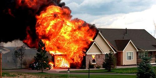к чему снится что дом сгорел