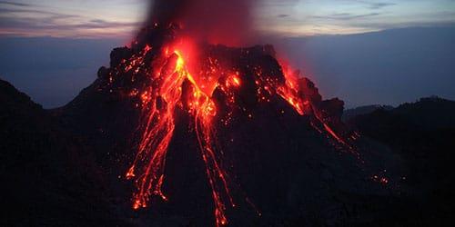 сонник извержение вулкана