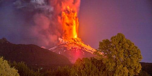к чему снится извержение вулкана