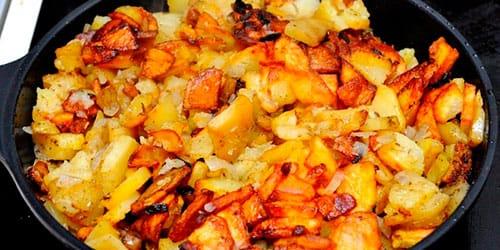жареная картошка во сне