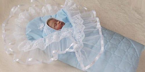 конверт для новорожденного во сне