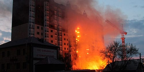 к чему снится многоэтажка сгорела