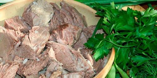 сонник вареное мясо