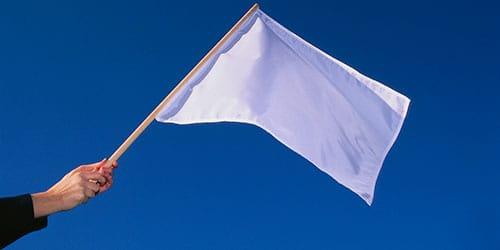 к чему снится белый флаг