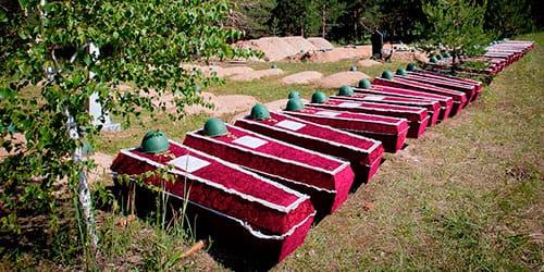 к чему снится много гробов закрытых