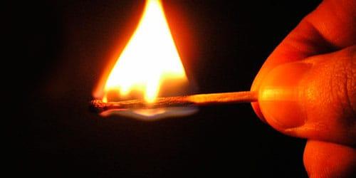 сонник поджигать