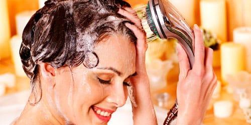к чему снится мыть голову шампунем