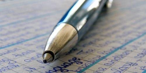 к чему снится писать шариковой ручкой