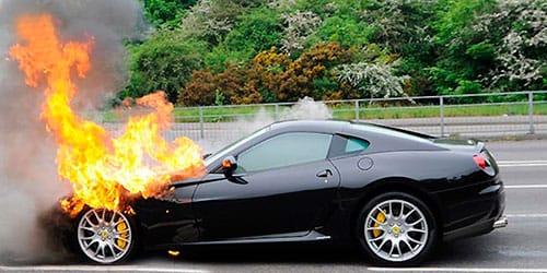 К чему снится горящая машина