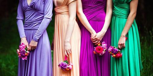 к чему снится много платьев