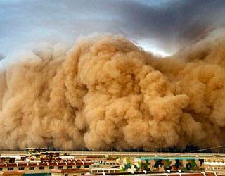К чему снится песчаная буря?