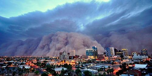 к чему снится песчаная буря