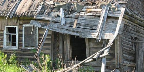 сонник разрушенный дом