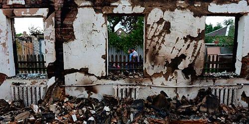 чужой разрушенный дом во сне