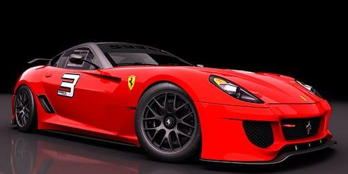 красная дорогая машина