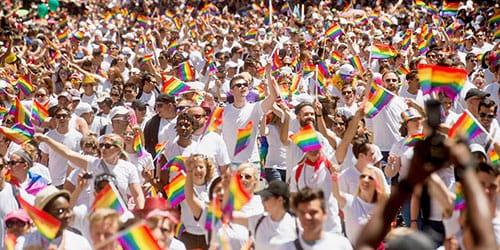 парад людей