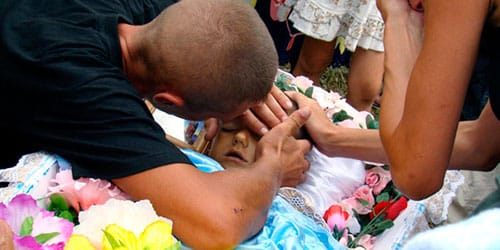 сонник ребенок в гробу