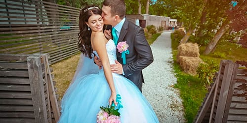 своя свадьба с незнакомым человеком