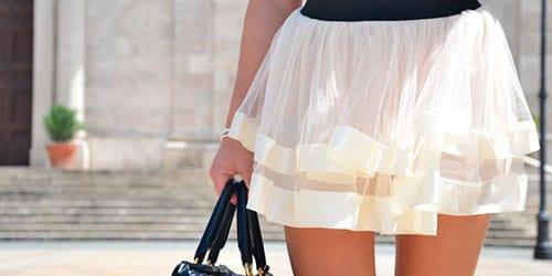 надевать белую юбку во сне