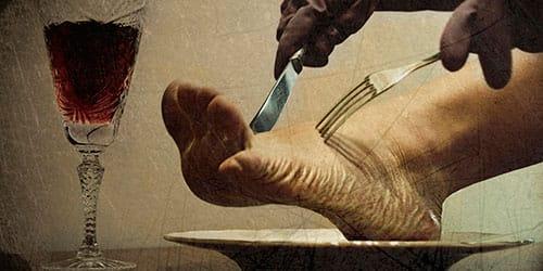 есть во сне человеческое мясо