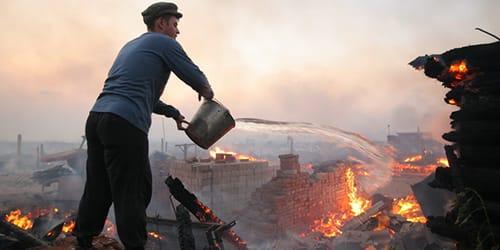 полностью сгорел сонник дом