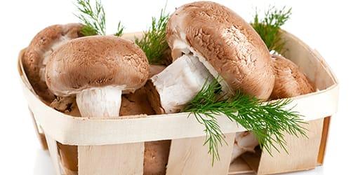 есть сырые грибы во сне