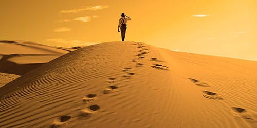 идти по следам